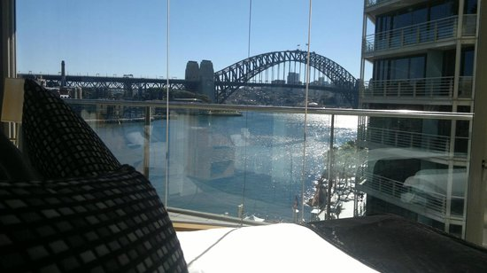 Pullman Quay Grand Sydney Harbour:                   View from our Bedroom