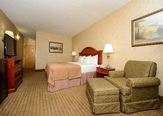 Quality Inn of Indy Castleton: Guest Room