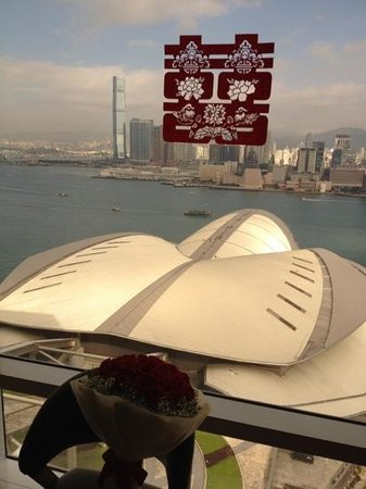 Renaissance Harbour View Hotel Hong Kong: our deluxe bridal suite view