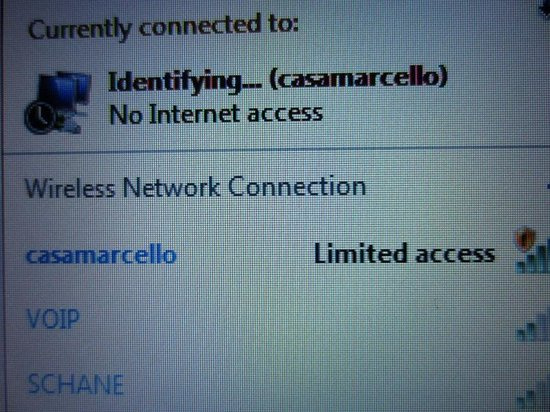 Casa Marcello: Awful internet connection.