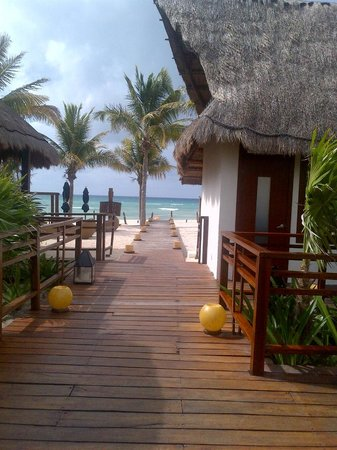 Grand Riviera Princess All Suites Resort & Spa:                   chill out beach