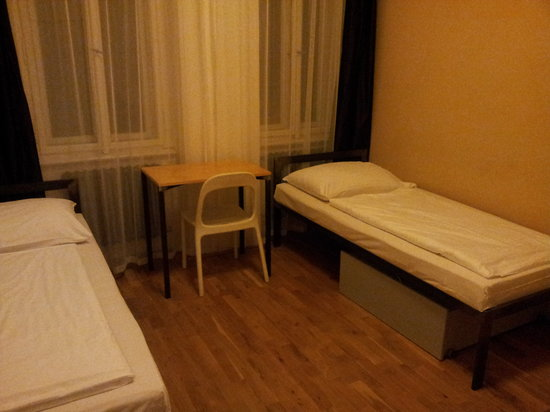 Czech Inn Hostel: Double sharing room