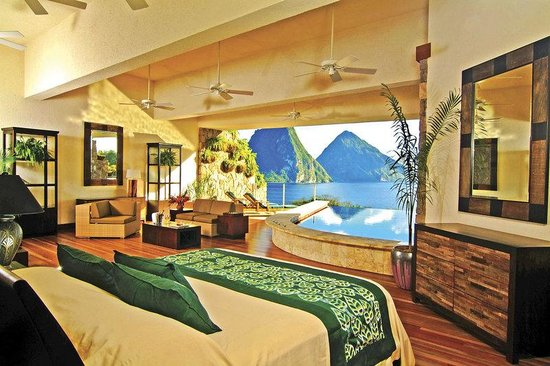 Jade Mountain Resort: Jade Mountain Infinity Pool Sanctuary ( Star)