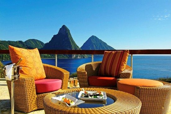 Jade Mountain Resort: Jade Mountain Celestial Terrace