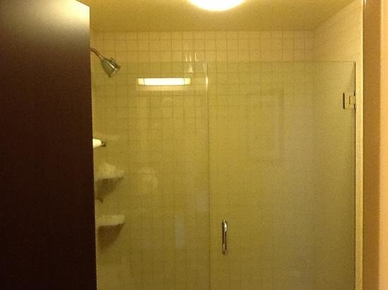 Springhill Suites Louisville Airport:                   big shower