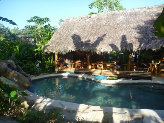 Hotel Blue Conga: pool with dining area behind