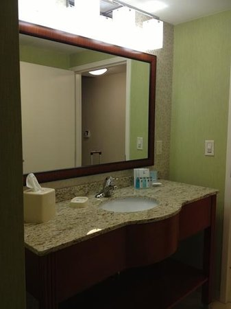 Hampton Inn Hickory: room 500 sink