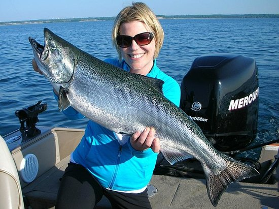 Trophy Northern Pike Fishing Charters Right In The Heart