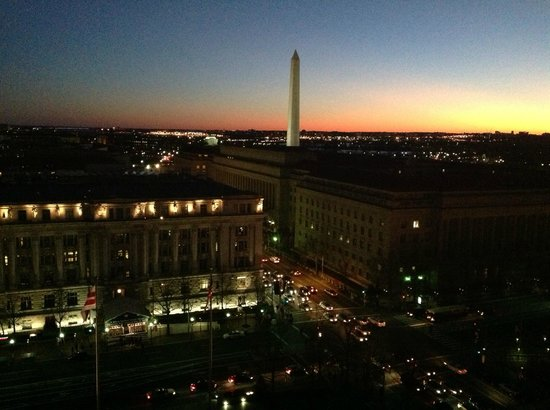 JW Marriott Washington DC:                   View from my Room