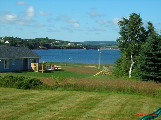 Cavendish, Canada: View of the Bay from the front deck