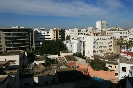 Le Diwan Rabat - MGallery Collection: View from our room towards the Souks.