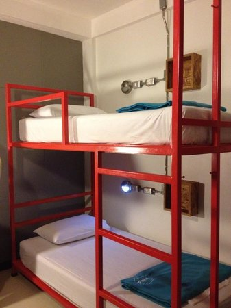 Lub d Bangkok - Silom: Twin-sharing room