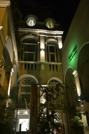 Rendez Vous Hotel Buenos Aires:                   Front of hotel