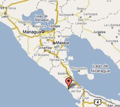Villas de Palermo Hotel &amp; Resort: Map of Nicaragua
