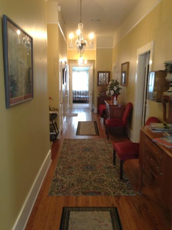 Devereaux Shields House:                   Aunt Clara's Cottage (Devereux Shields) Hallway