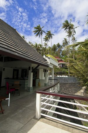 Dabirahe at Lembeh Hills Resort: Restaurant area