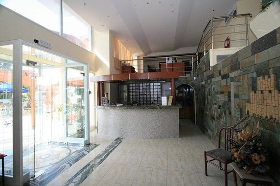 Panorama Hotel Apartments: Lobby - Panorma Hotel - Rhodes Town -  Rhodes Island - Greece