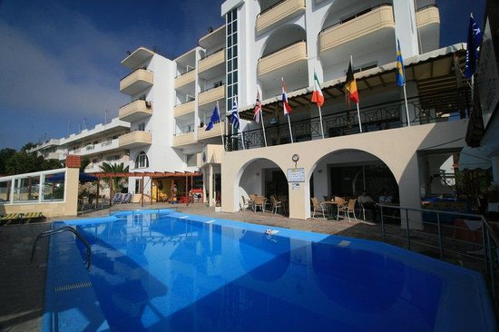Panorama Hotel Apartments: Main Entry - Panorama Hotel - Rhodes Town - Rhodes Island - Greece