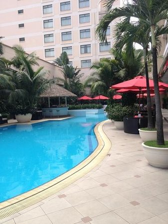 Caravelle Hotel:                                     the pool