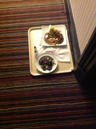 Hartlepool, UK:                   Room service!