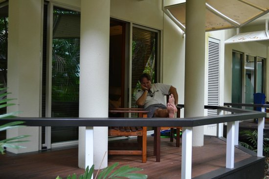 Green Island Resort: Deck