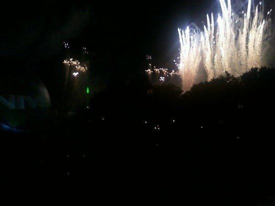 Summer Bay Resort:                   Fireworks at Universal