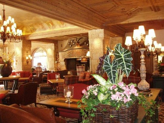 Gstaad Palace Hotel: Lounge