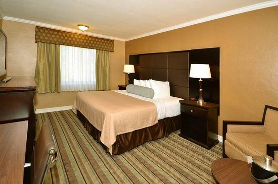 BEST WESTERN Carmel's Town House Lodge: Guest Room