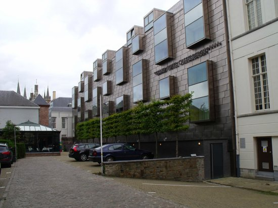 Grand Hotel Casselbergh Bruges: Rear of the hotel