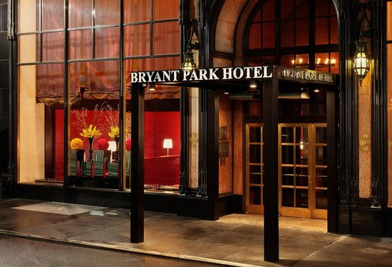 The Bryant Park Hotel: Main Entrance