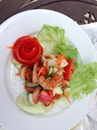 Moon Dance Villas:                   Lunch at the beach