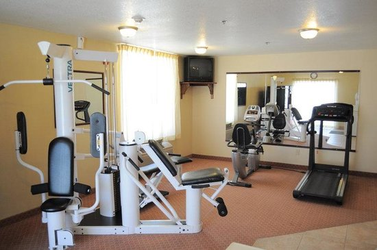 BEST WESTERN PLUS John Jay Inn & Suites: Exercise Room