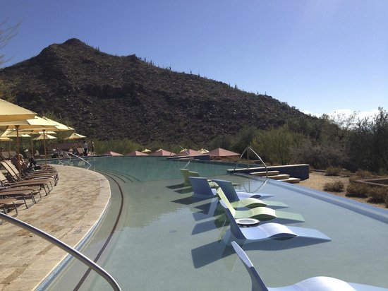 The Ritz-Carlton, Dove Mountain: Amazing views from the infinity pool...