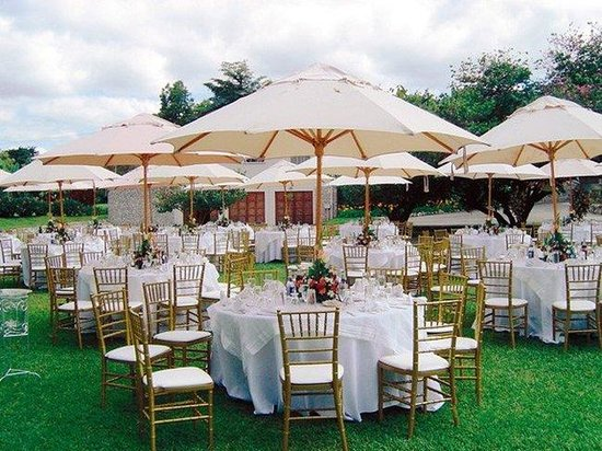 Radisson Hotel Guatemala City: Outdoor Catering