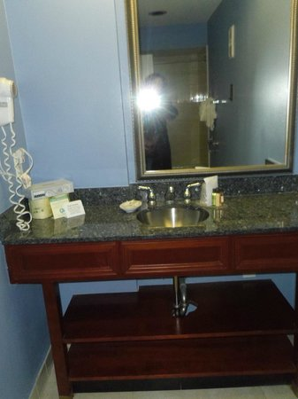 Commonwealth Park Suites Hotel: In the bathroom