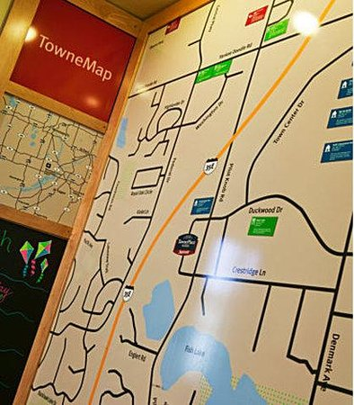 TownePlace Suites Minneapolis West/St. Louis Park: TowneMap