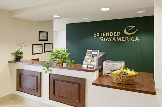 Extended Stay America - Akron - Copley: Lobby and Guest Check-in