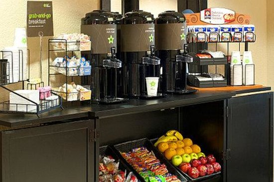 Extended Stay America - Syracuse - Dewitt: Free grab-and-go breakfast