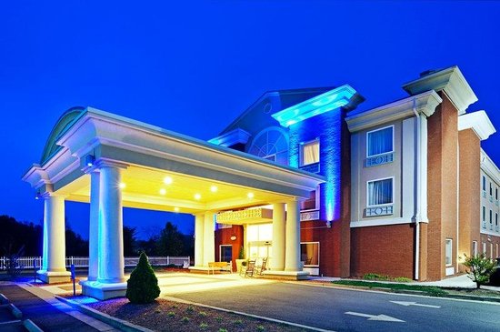 Holiday Inn Express Suites Murphy: Entrance