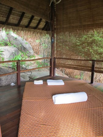 Laem Set, Thailand: Massage pavilion