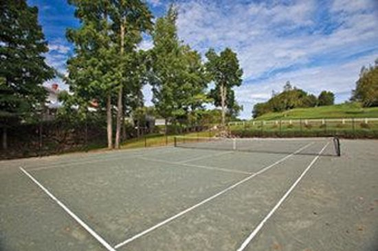Crotched Mountain Resort &amp; Spa: Tennis Court