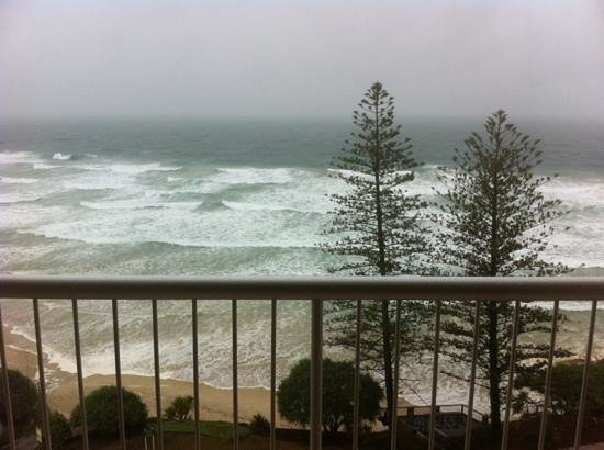 Coolum Caprice Luxury Holiday Apartments:                   view from a one bedroomed unit on 10th floor