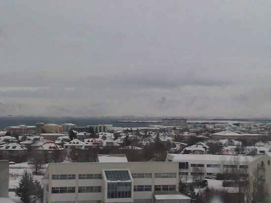 Hilton Reykjavik Nordica:                   View From 6th Floor