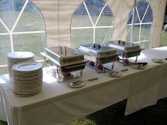 Wedding Buffet Table Setup Inn: wedding buffet table
