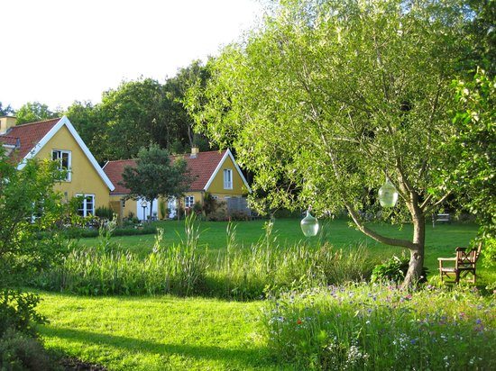 Sorø, Danmark: view from the gardens