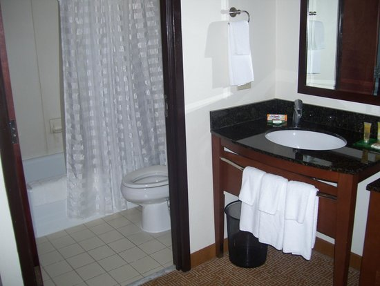 Hyatt Place Tampa Airport/Westshore: bathroom