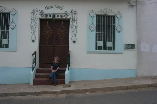 Casa Verde B&amp;B:                   Una vista de la fachada del Casa Verde, Sucre