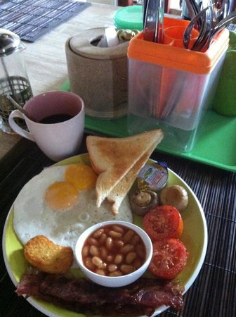 Homestay Bali Starling: English breakfast