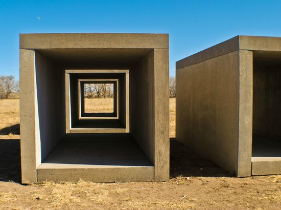 Marfa, TX:                   Works in Concrete