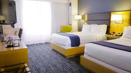Holiday Inn Express Hotel & Suites Stamford: Double Bed Guest Room